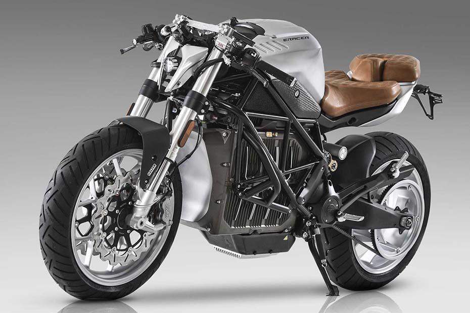 E-Racer Motorcycle คัสตอมสตรีทไบค์ไฟฟ้า Zero SR / F ให้เป็นรถแนว Café Racer