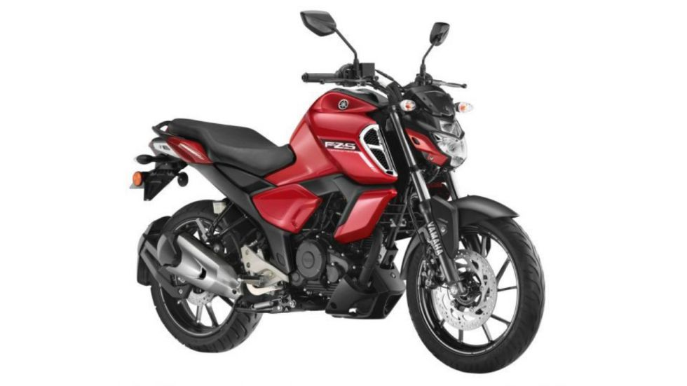 FZ-S 150 สีแดง