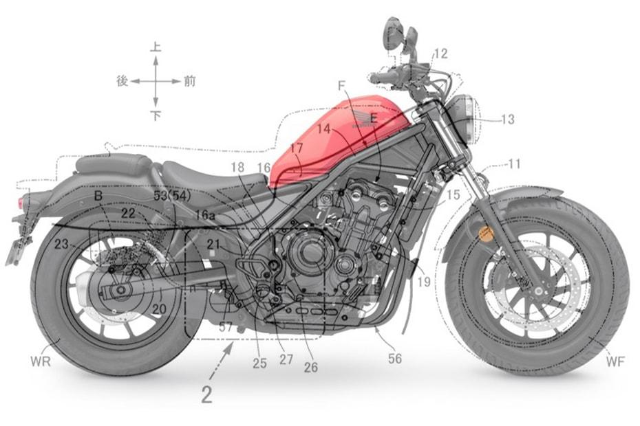 เผยสิทธิบัตรใหม่ Honda เตรียมพัฒนา Scrambler 500cc ใหม่
