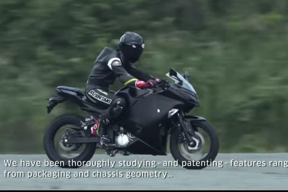 Kawasaki เผยแนวคิดบิ๊กไบค์ไฟฟ้าออกแบบได้แรงบันดาลใจจาก Ninja