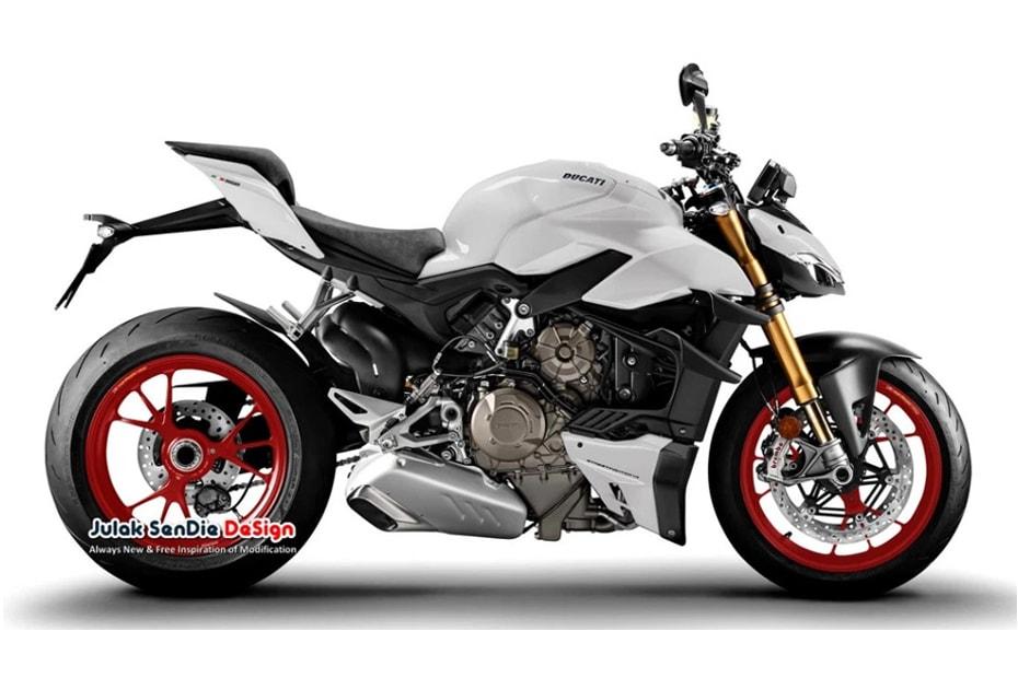 ภาพกราฟิกแปลงโฉม New Ducati StreetFighter V4 2020 พร้อมสีใหม่ที่มากกว่าสีแดง