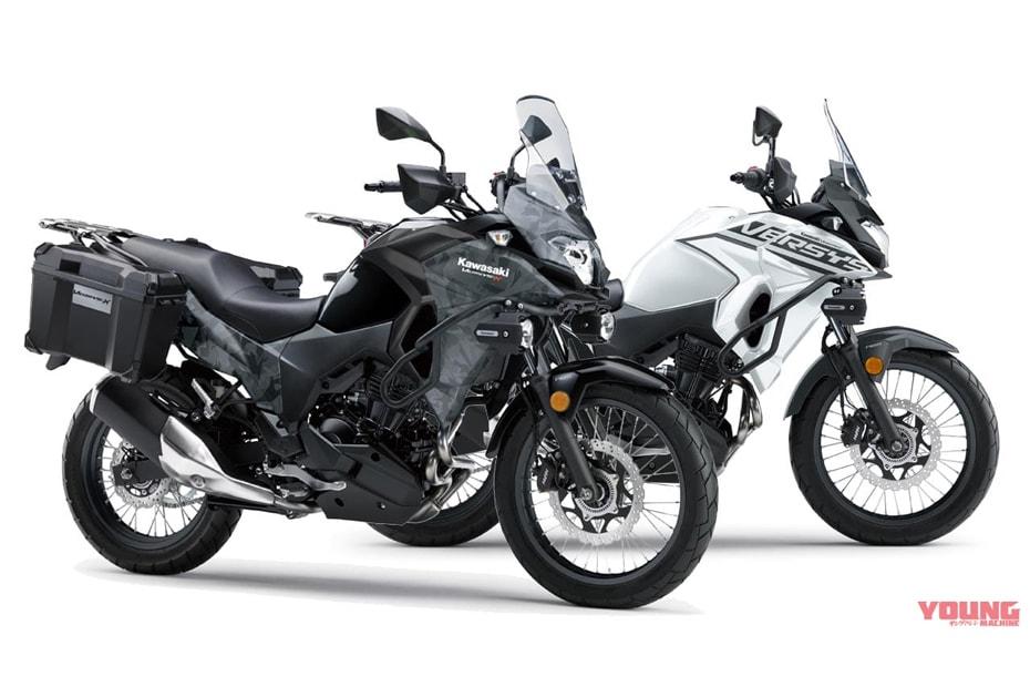 อัพเดทสีใหม่ Kawasaki Versys X250 2020 ในประเทศญี่ปุ่น