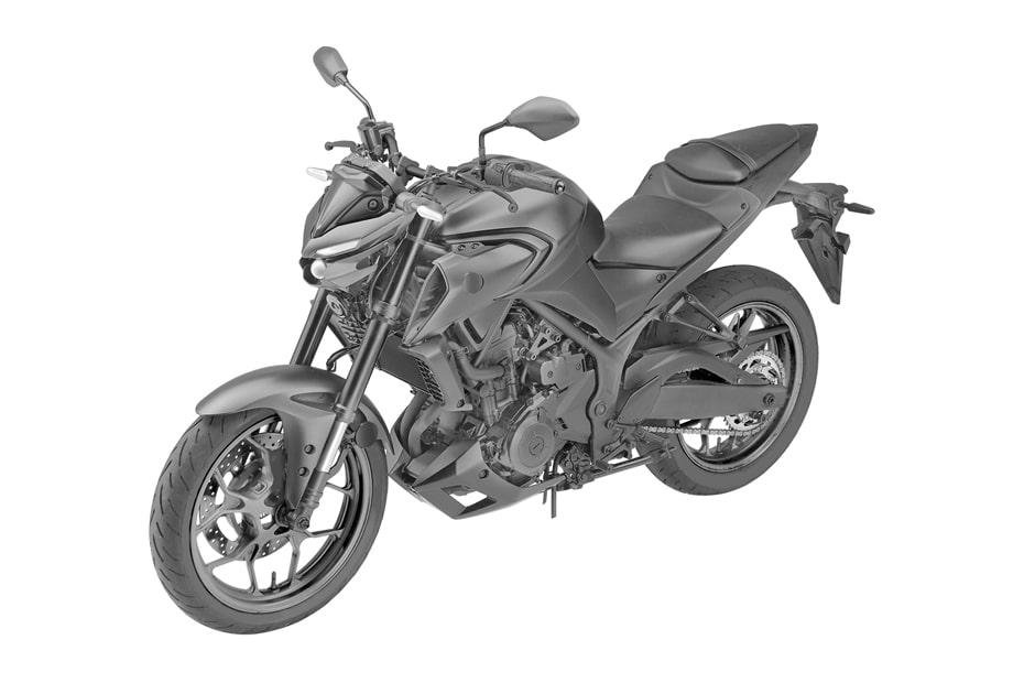 เผยสิทธิบัตร Yamaha MT25 การออกแบบโดย Yamaha Global