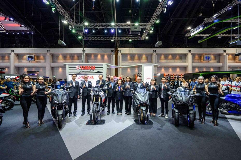 เปิดตัว Yamaha Tenere 700 และ TMAX 560