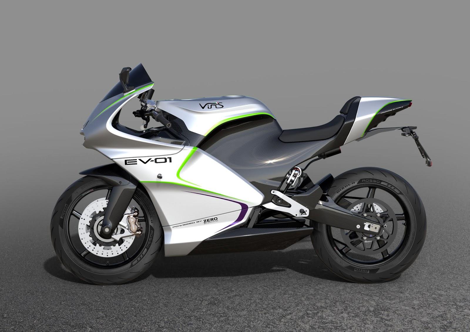 EV-01 จักรยานยนต์พลังงานไฟฟ้า