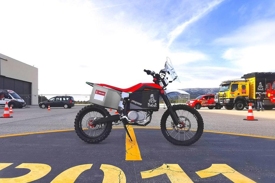 เตรียมเปิดตัว Tacita T-Race Rally 2020 จักรยานยนต์ไฟฟ้าเรลลี่ในงาน Dakar Rally 2020