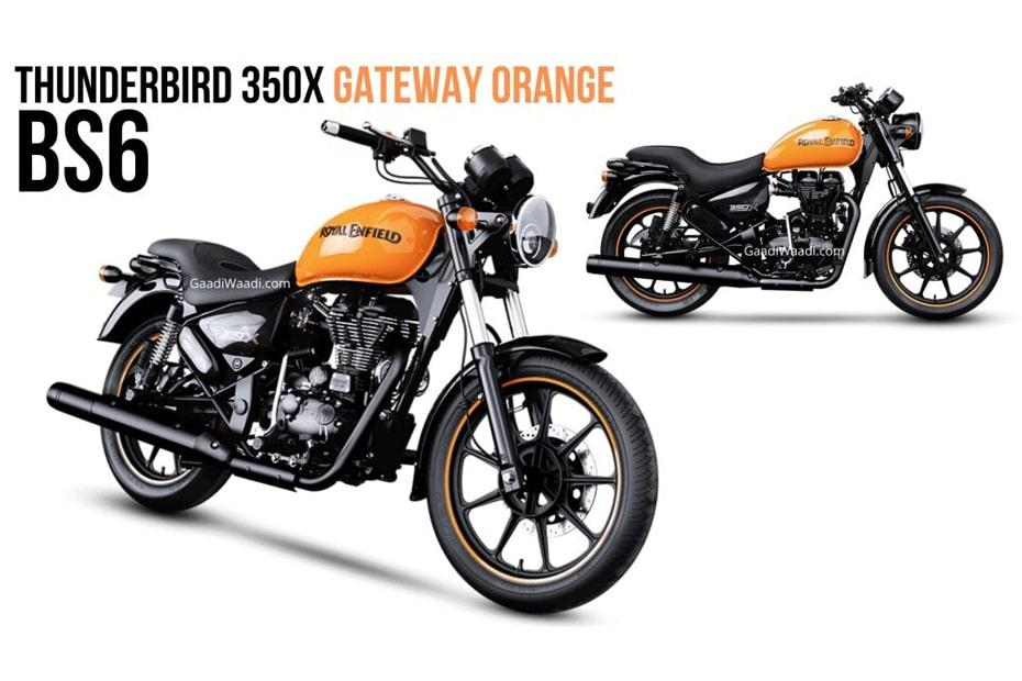 เปิดตัว Royal Enfield Thunderbird 350X BS6 พร้อมสี Gateway Orange ใหม่