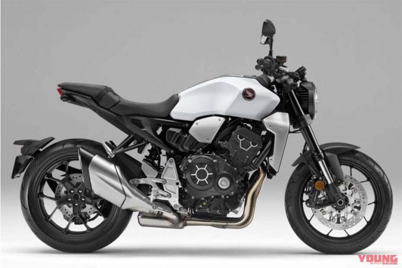 เผยสีใหม่ Honda CB1000R ปี 2020 สี Matte Pearl Glare White