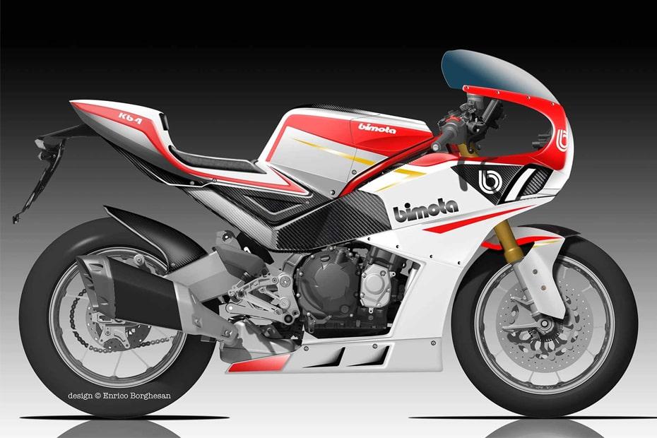 จักรยานยนต์สไตล์ย้อนยุค Bimota KB4 2020 เตรียมเปิดตัวเร็วๆนี้