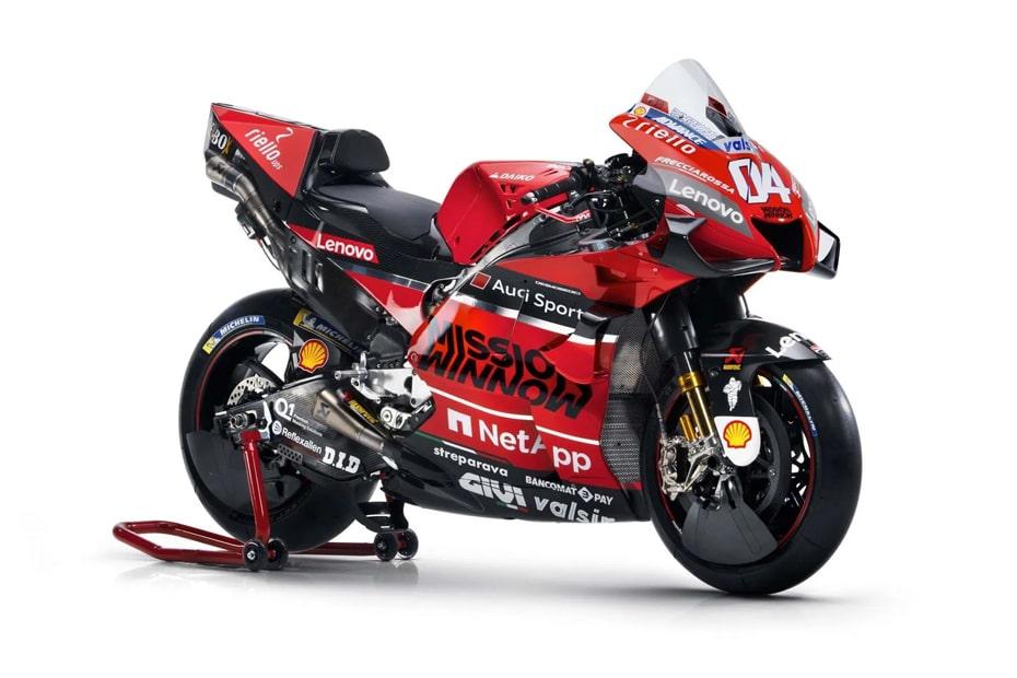 เปิดตัว Ducati Desmosedici GP20 2020 อย่างเป็นทางการในอิตาลี