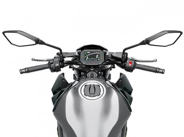 Kawasaki Z900 2020 ช่วงแฮนด์บาร์