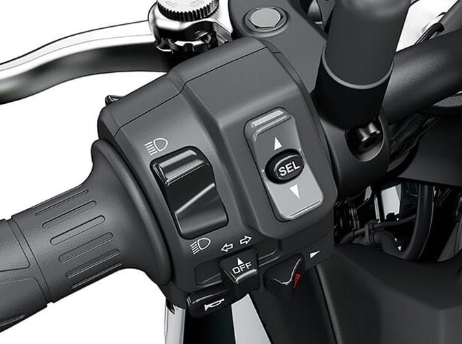 Kawasaki Z900 2020 สวิชต์รถ