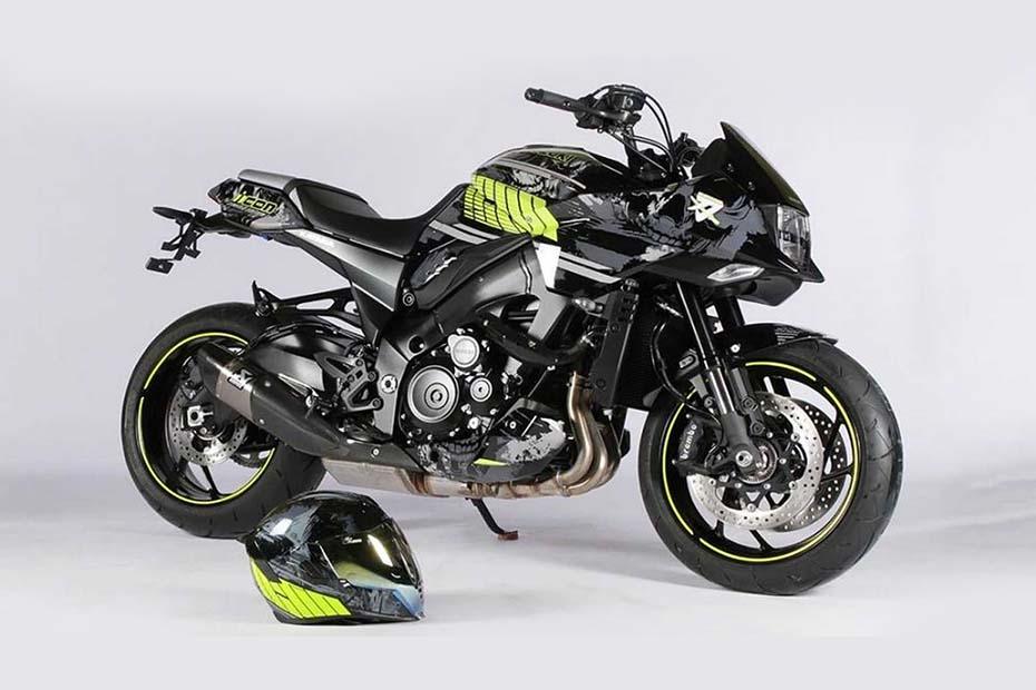 Suzuki Katana รุ่นพิเศษ A Gnarly Facelift โดย Icon Motosports
