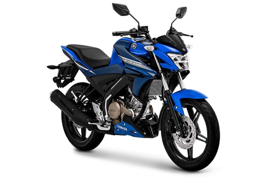 ใหม่ Yamaha Vixion 150 2019 สี Metalic Blue จำหน่ายในอินโดนีเซีย