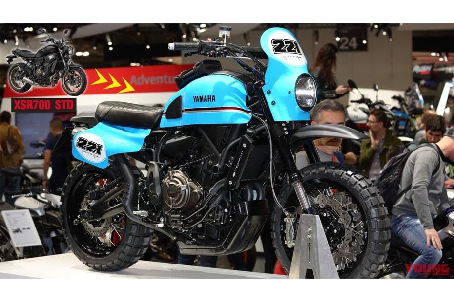 เผยแนวคิด Yamaha EU รุ่น XSR700 VIOLANTE จากงาน EICMA 2019
