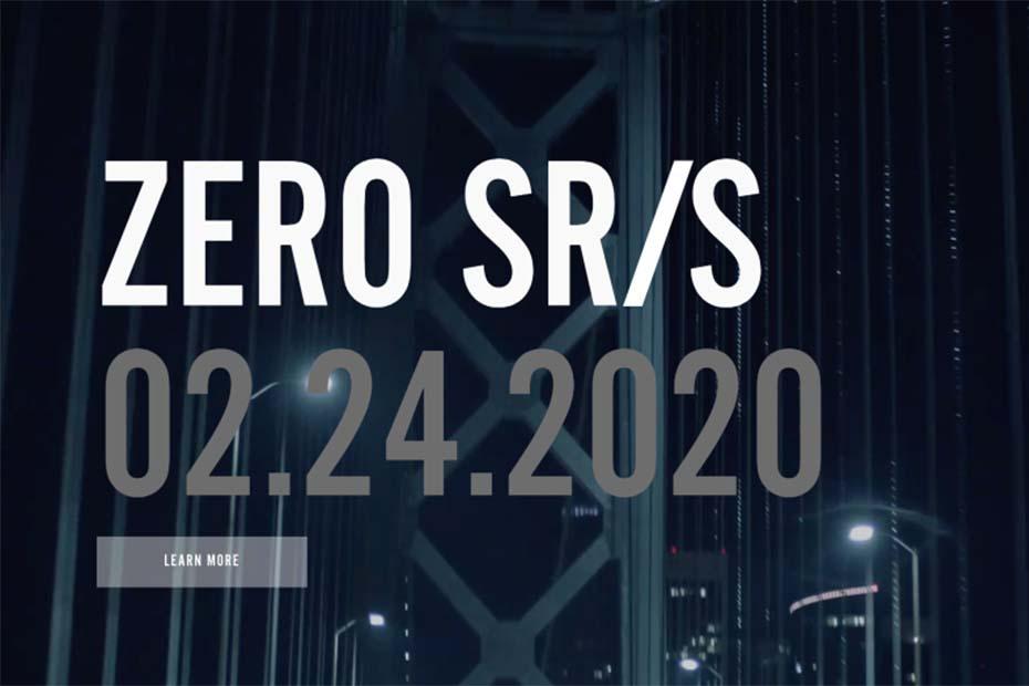 Zero Motorcycles เผยทีเซอร์ SR / S รุ่นใหม่ เตรียมเปิดตัววันที่ 24 กุมภาพันธ์ 2563 นี้