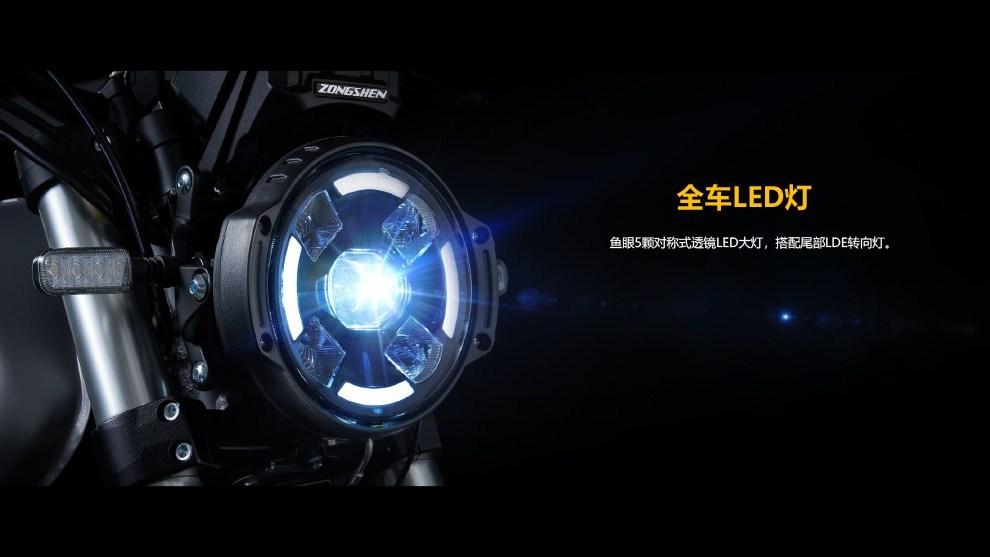 Zongshen RE3 2020 ไฟหน้า