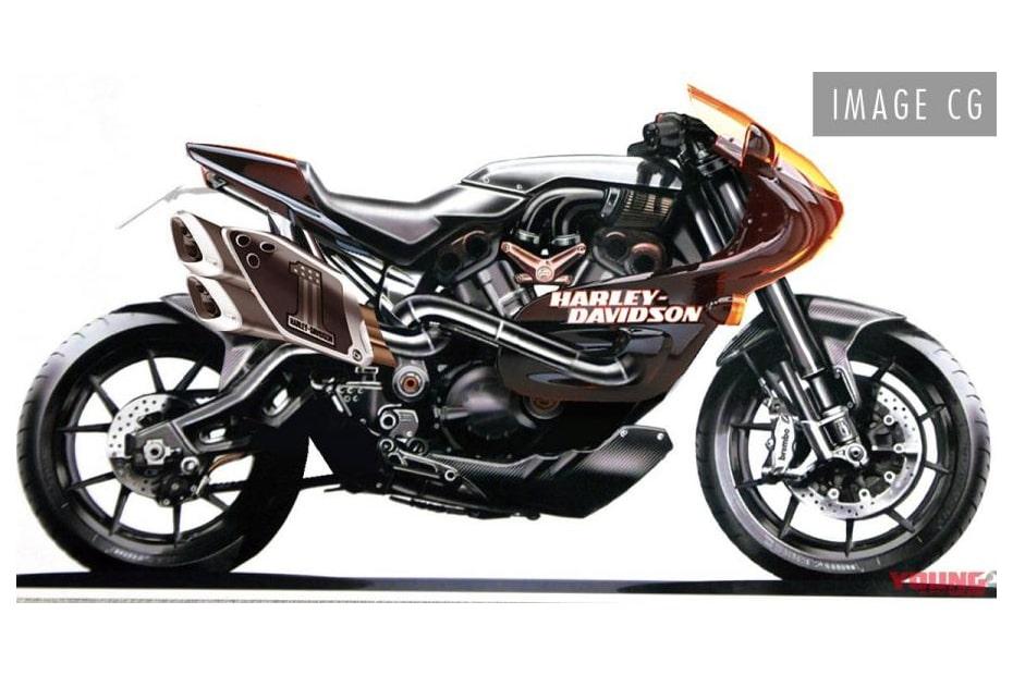 เผยภาพกราฟิก Harley-Davidson บิ๊กไบค์ใหม่ได้แรงบันดาลใจจาก VR1000