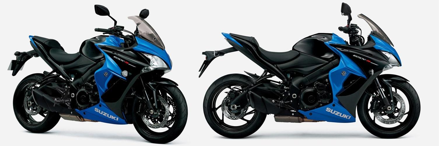 ซูซูกิ GSX-S1000F ABS 2020 สีดำ-น้ำเงิน