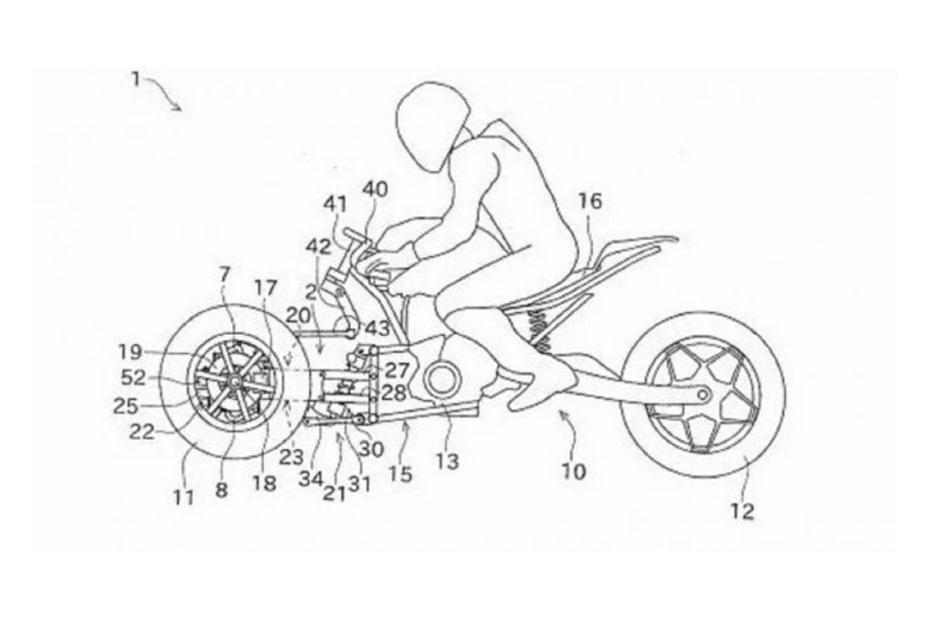 เผยสิทธิบัตร Yamaha Niken จักรยานยนต์ 3 ล้อ อาจเป็นคู่แข่ง Kawasaki