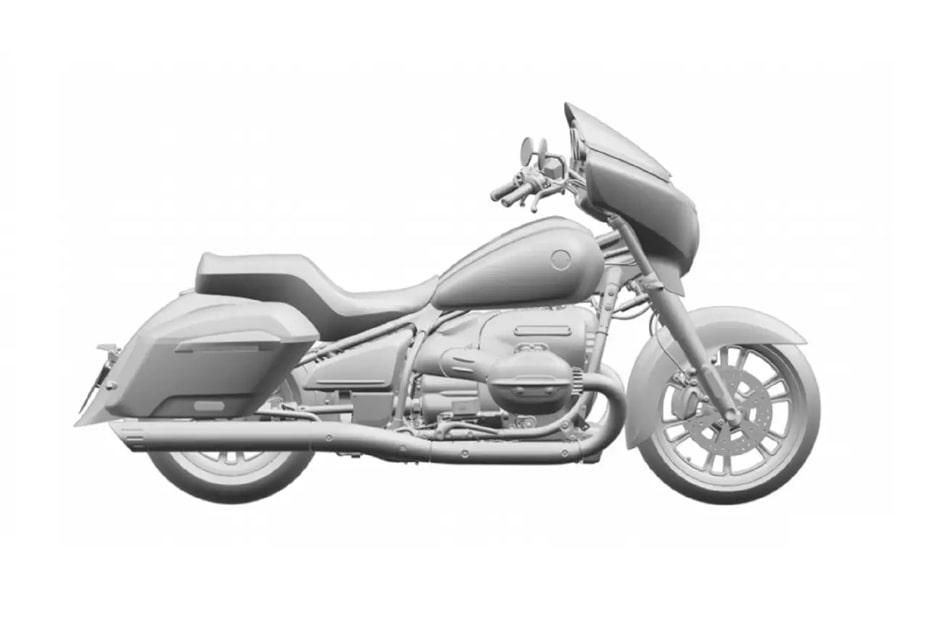 หลุดสิทธิบัตร BMW 1800cc ใหม่กับจักรยานยนต์สไตล์ Touring