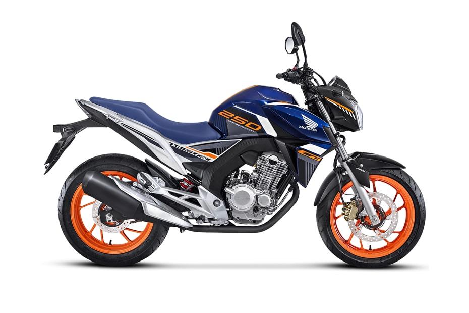 อัพเดทสีใหม่ Honda CB 250 Twister 2020 เปิดตัวในประเทศบราซิล