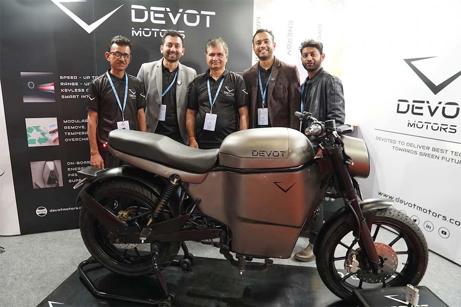 Devot Motors เปิดตัว EV Motorcycle Prototype อย่างเป็นทางการที่งาน Auto Expo 2020
