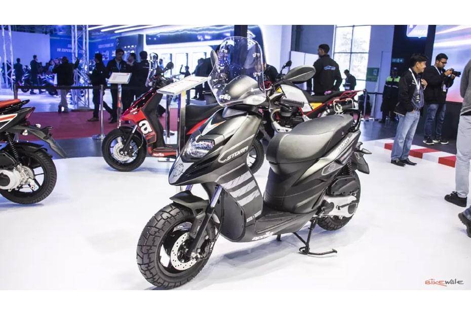 เปิดตัว Aprilia Storm 125 2020 ที่อินเดียในงาน Auto Expo 2020