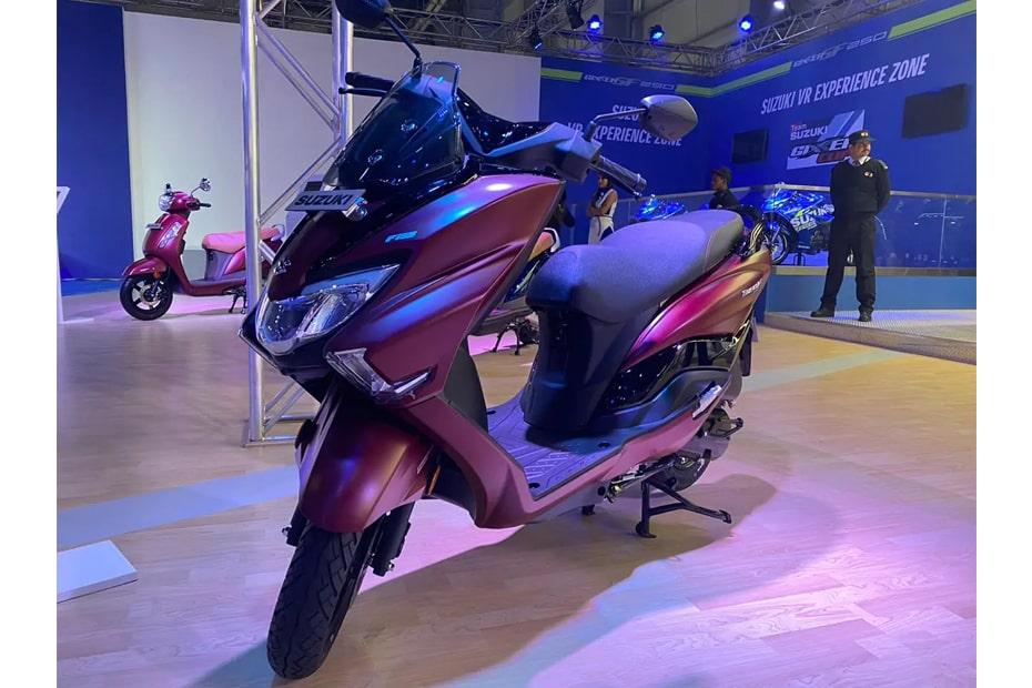 อินเดียเปิดตัว Suzuki Burgman Street 2020 ในงาน Auto Expo 2020