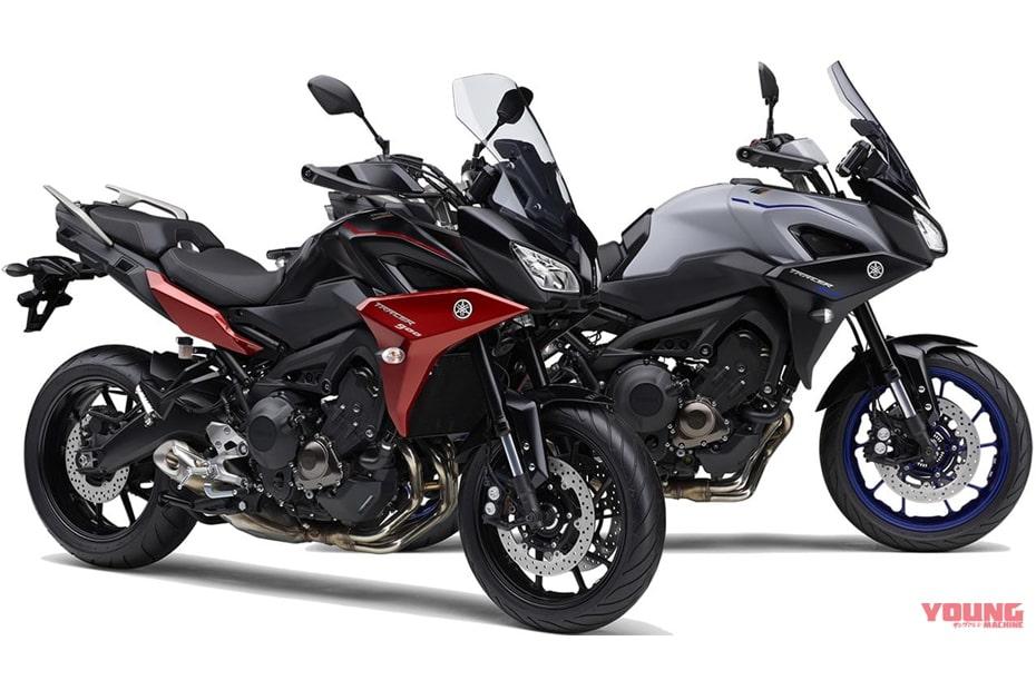 อัพเดทสีใหม่ Yamaha Tracer 900 และ Tracer 900 GT 2020 ในญี่ปุ่น