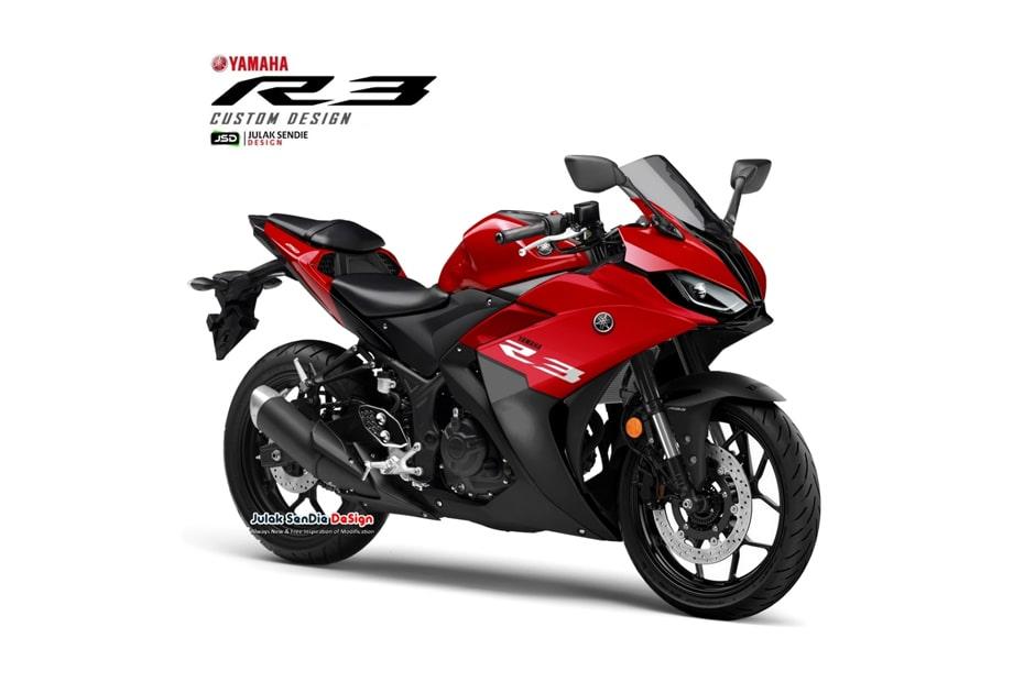 เผยการออกแบบกราฟิก Yamaha R3 ให้มาในสไตล์ S1000RR โดย JSD