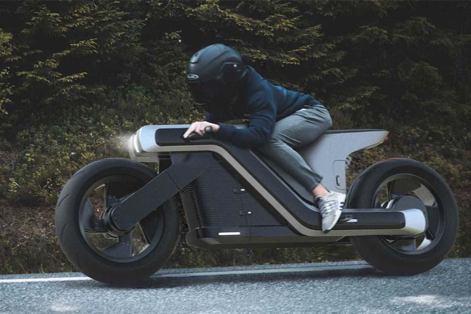 Z Motorcycle จักรยานยนต์ไฟฟ้าสไตล์ล้ำสมัย ที่ออกแบบโดย joseph robinson