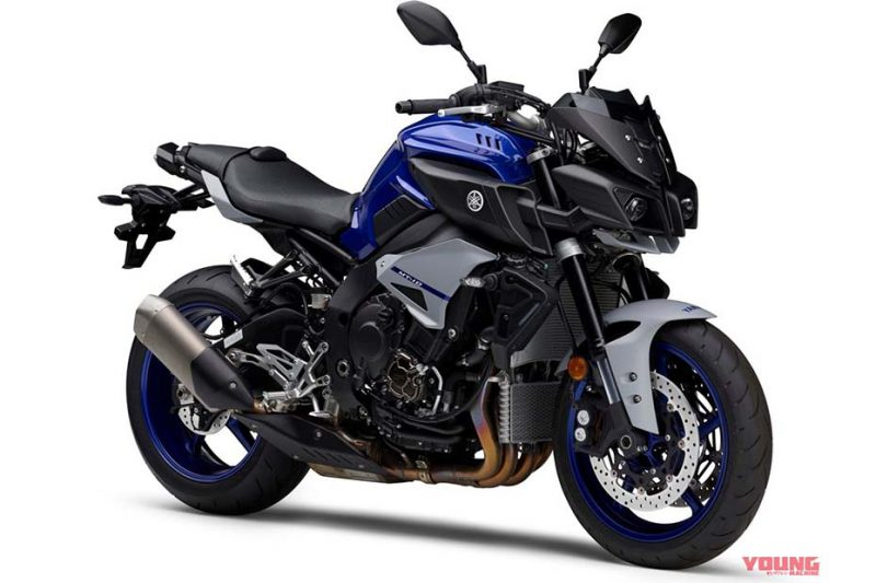 เตรียมเปิดตัวสีใหม่ Yamaha MT -10 สีน้ำเงิน (Deep Purplish Blue Metallic C)
