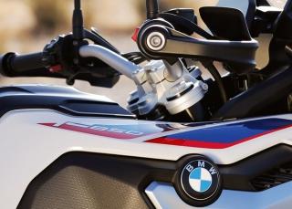 BMW F 850 GS มือจับอะลูมิเนียมสบายมือ