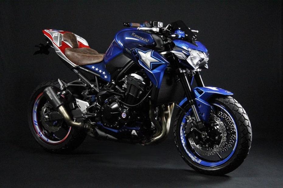 เผยโฉม Kawasaki Z900 เวอร์ชั่น Captain America จาก Matvel