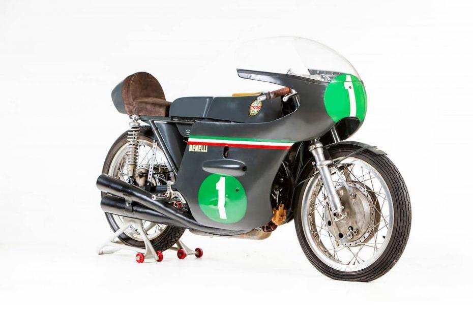 จักรยานยนต์ย้อนยุค BENELLI 250 GP 1964 ประมูลในราคา 149,500 ปอนด์