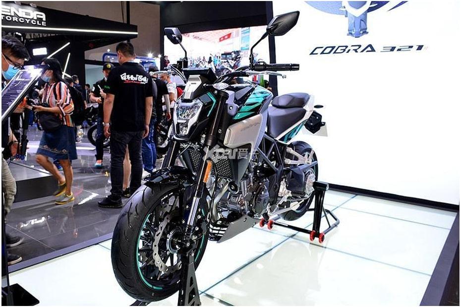 จักรยานยนต์แบรนด์จีน Colove Cobra 321R 2020 กับสไตล์เน็กเก็ตที่โดดเด่น