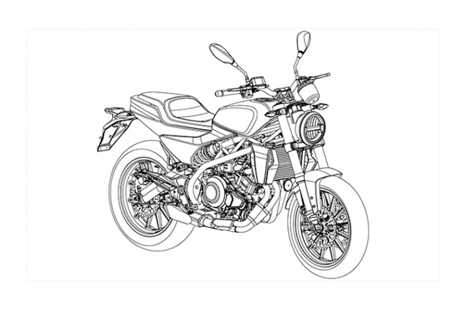 ภาพวาดใหม่ Harley-Davidson 338R ขนานนามว่า 'baby Harley' เผยให้เห็นรายละเอียดที่น่าสนใจ