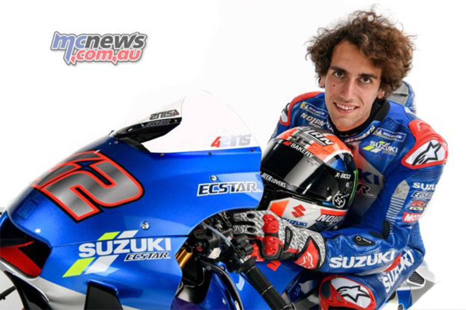 Alex Rins ต่อสัญญากับ Suzuki MotoGP อีกสองฤดูกาล