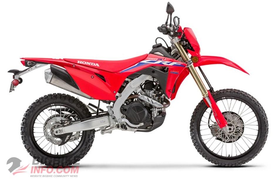 All New CRF450RL 2021