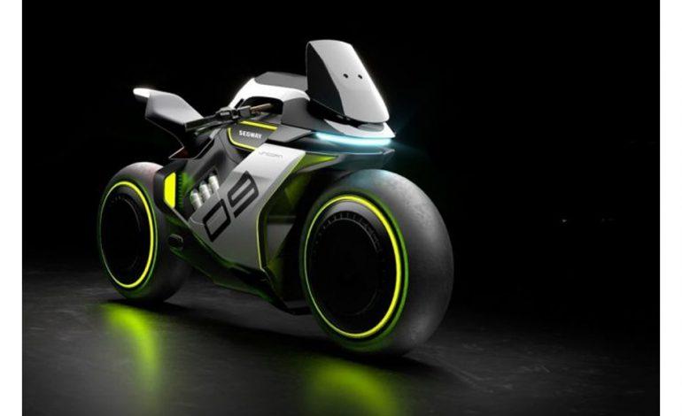 เผยจักรยานยนต์แนวคิด Segway Apex H2 จักรยานยนต์ไฮโดรเจนไฟฟ้า