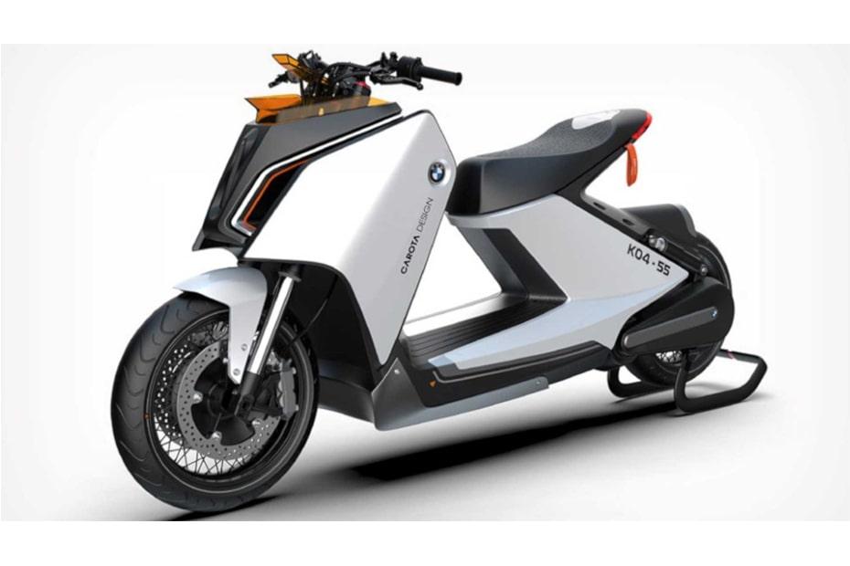 เผยการออกแบบภาพ BMW สกูตเตอร์ไฟฟ้า ที่ดูทันสมัยมากขึ้น