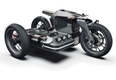 BMW Motorrad x ESMC รถจักรยานยนต์ไฟฟ้าสไตล์ออฟโรด