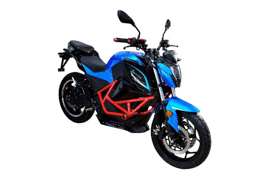 จักรยานยนต์ไฟฟ้า Ebroh Bravo GLE ขนาดเล็กสไตล์ Z650
