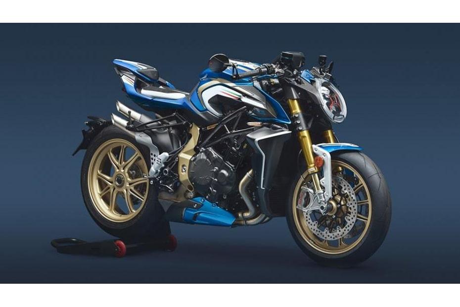 เผยโฉม MV Agusta Brutale 1000 RR Blue & White ML จักรยานยนต์ที่หายากที่สุดในโลก