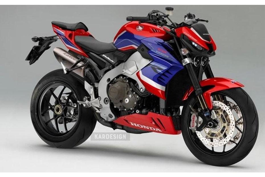 เผยภาพกราฟิก Honda CB1000R ด้วยลวดลายจากรุ่น CBR1000RR-R SP