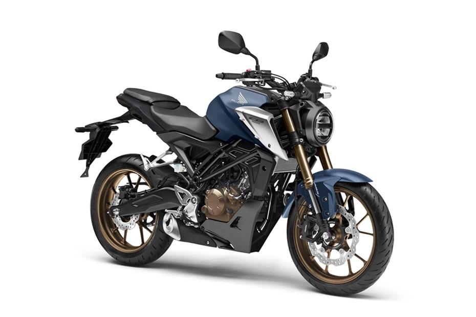 สีใหม่ Honda CB125R 2021 พร้อมสไตล์การออกแบบที่โดดเด่น