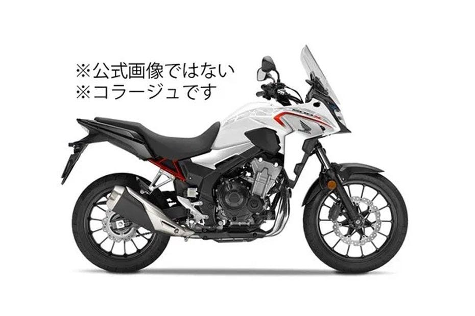 เผยภาพที่คาดเป็นจักรยานยนต์ใหม่ Honda CB400X 2020 ช่วงท้ายเฟรมสีแดง
