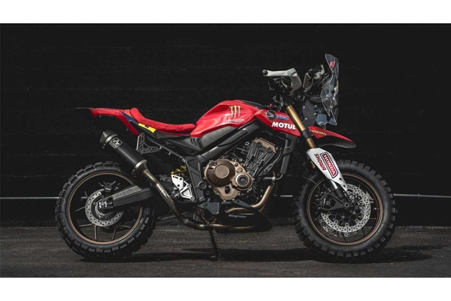 แปลงโฉม Honda CB650R สไตล์ Rally Raid ออกแบบโดย Honda Wingmotor