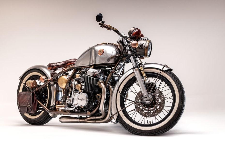 เผยการออกแบบ Honda CB750 Douglas 1972 จักรยานยนต์ย้อนยุค